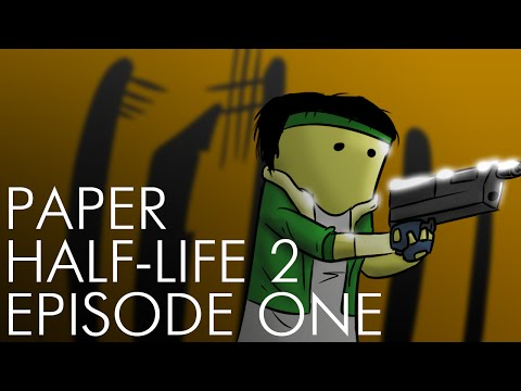 Paper Half-Life 2: Episode One