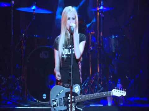 My Happy Ending - Avril Lavigne [ The Bonez Tour ]