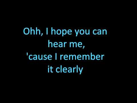 I Miss You - Avril Lavigne with lyrics