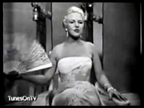 Peggy Lee - Blues in the Night - 1957