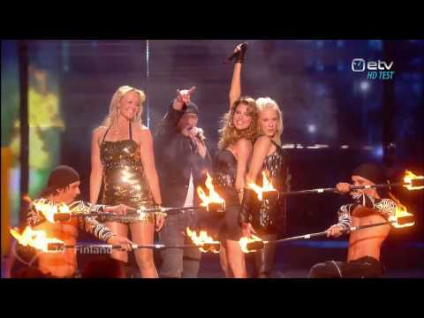 Eurovision HDTV - Waldo's People - Lose Control (Finland) Final 2009