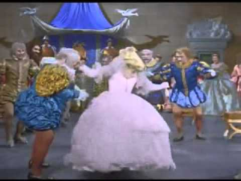 Cinderella at the ball. The song about a beetle