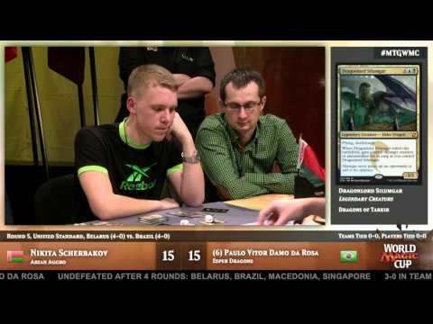 2015 World Magic Cup Round 5 (Unified Standard): Brazil vs. Belarus