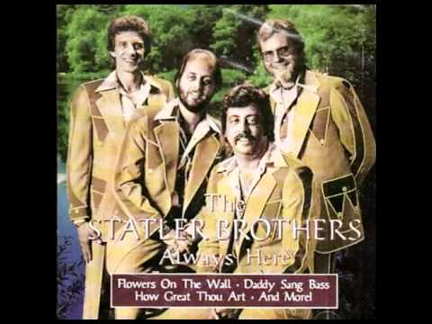 The Statler Brothers - Flowers On The Wall (Columbia - 1966)
