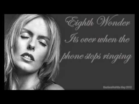 Eighth Wonder Patsy kensit - Its over when the phone stops ringing