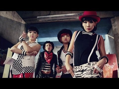 2NE1 - CRUSH (Japanese Ver.) M/V