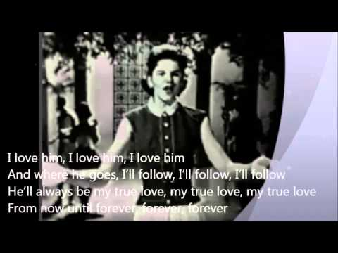 Little peggy march (1963 original Live) - I will follow him