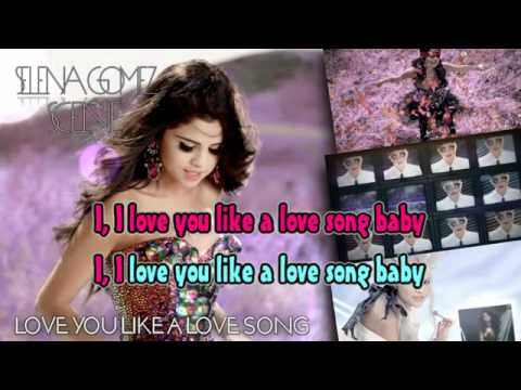 Love You Like A Love Song Karaoke Instrumental - Selena Gomez & The Scene