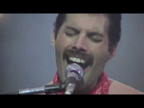 FREDDIE MERCURY, WE ARE THE CHAMPIONS